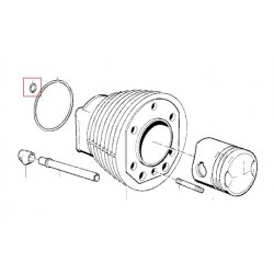 Joint torique d'embase de cylindre