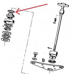 rondelle d'ajustage de 2.5 MM