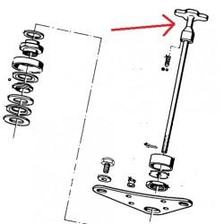 molette de reglage de frein de direction