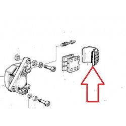 couvercle etrier brembo de 38 mm