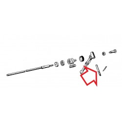 axe de levier d'embrayage diametre 6mm