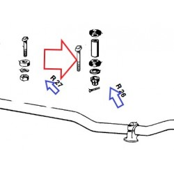 vis de fixation de guidon R26