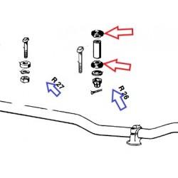 caoutchouc de fixation de guidon R26