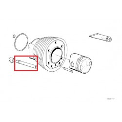 tube tige de culbuteur diametre 15.8 inox